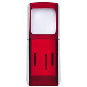 Rechtecklupen mit LED Beleuchtung rot