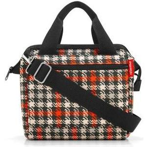 Schultertasche Allrounder cross glencheck red, 4 l, 22 x 24 x 13 cm