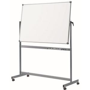 Mobiles Whiteboard MAULpro drehbar, Emaille, 100x210 cm
