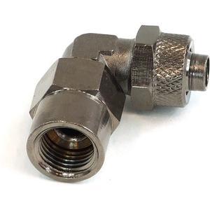 Aufschraubtülle iG1/4 auf 10/8mm 90° - black nickel