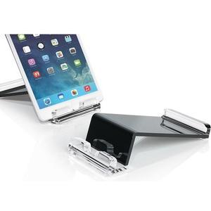 Tablet-Ständer aus Acryl, kombiniert mit Schwarz,