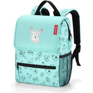 Kinderrucksack backpack kids 5l cats and dogs mint, 21 x 28 x 12 cm