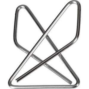 Omega Kreuzklammern 100 Stück, 40 mm