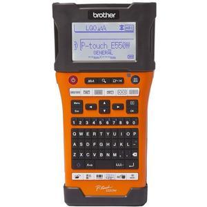 P-touch PT-E550WVP Beschriftungsgerät inklusive 4 Beschriftungsbänder und Transport-Koffer