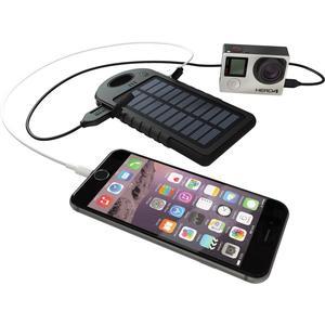 Power Bank, Solar Ladegerät - schwarz