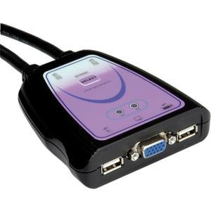 KVM Switch 'Star' 1 U - 2 PCs, VGA, USB
