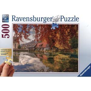 Mühle am Blautopf - Puzzle [500 Teile]