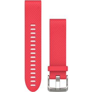 QuickFit Silikonarmband 20mm für Fenix 5S - rot