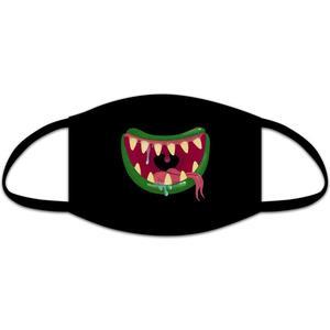 Mund/Nasen-Maske, Kids, Stoff, Monstersmile