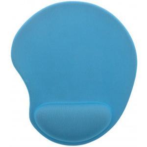 Ergo Design Mausmatte ergonomisch mit Gel Einsatz, hellblau