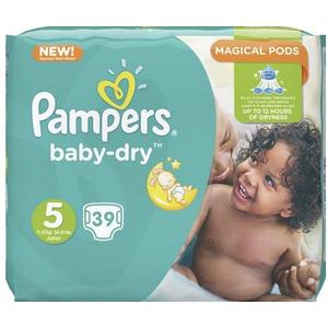 Baby Dry Sparpack Gr. 5 Junior, 39 Stk.