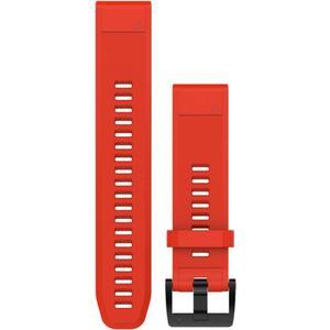QuickFit Silikonarmband 22mm für Fenix 5 - rot