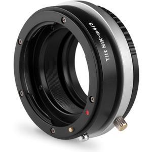 Tilt Adapter Nikon auf micro 4/3