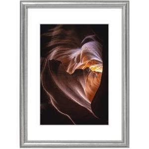 Holzrahmen Phoenix, Silber, 13 x 18 cm