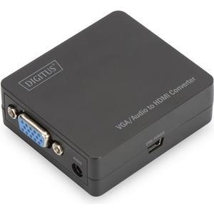Multimedia VGA/Audio zu HDMI Converter