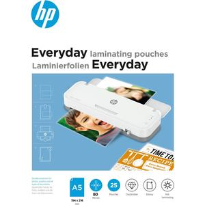 Everyday Laminating Pouches, A5, 80 Micron