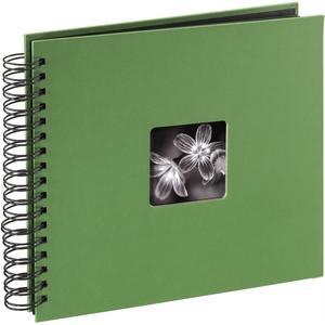 "Spiralalbum ""Fine Art"" 28x24/50 - grün"