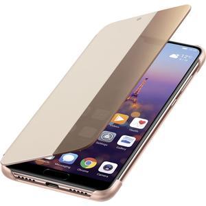Smart View Flip Cover für P20 - pink