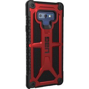 Monarch Case für Samsung Galaxy Note9 - schwarz/rot