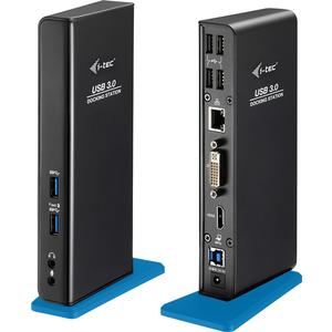 USB 3.0 Dual Docking Station HDMI DVI