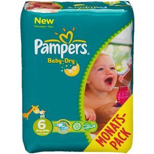 Windeln Baby Dry Monatsbox Grösse 6