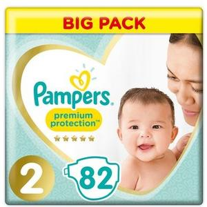 Premium Protection NewBabyGr.2Mini Big Pack, 4-8kg, 82 Stk.