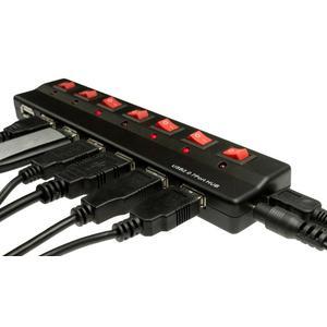 Ultimate 7 Port USB Hub einzeln schaltbar