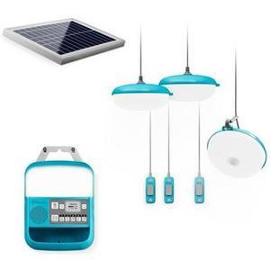 SolarHome System 620 Solarset mit Akku, Lautsprecher,Beleuchtung