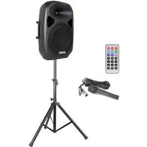 SPS152 15 Trolley-Speaker Set, 600W, Mik&Stativ