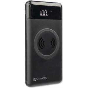 Induktive Powerbank VoltHub 10000 mAh mit Qi - schwarz