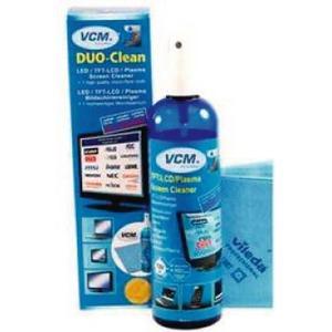DUO-Clean 250ml Display Reiniger und Vileda Mikrofiber-Tuch