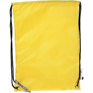 Turnbeutel gelb 1 Stück, 31 x 44 cm, Polyester
