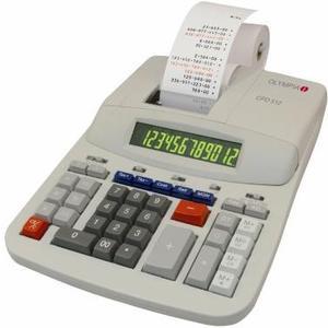 Tischrechner CPD 512 12-stellige Anzeige, Zweifarbendruck (bk/r)