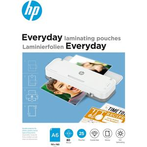Everyday Laminating Pouches, A6, 80 Micron