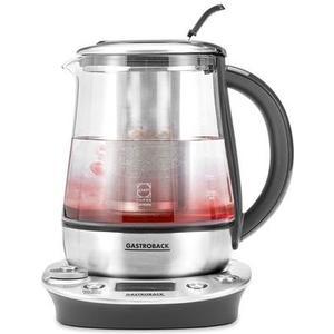 Tee- und Wasserkocher Design Tea & More Advanced - silber