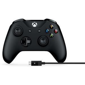 Xbox Controller inkl. Kabel für Windows - schwarz [PC]