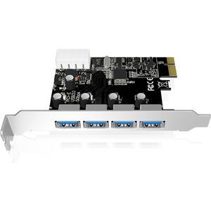 4-Port USB 3.0 PCI Express-Karte
