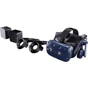 Vive Pro Starter Kit, VR Headset Gaming VR-Brille inkl. 2x Controller und 2x Basisstation