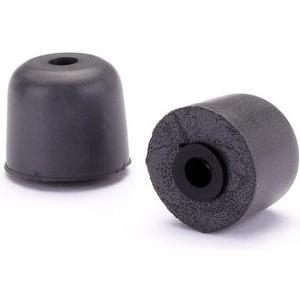 Ture-Fit Foam Eartips - 2 Stück - schwarz