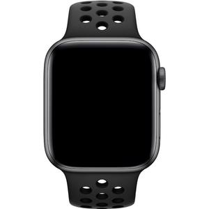 Watch Series 4 GPS + Cellular Nike+ (Aluminium) space grau - 40mm - Sportarmband anthrazit/schwarz