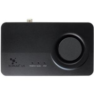 Xonar U5, USB Soundkarte schwarz