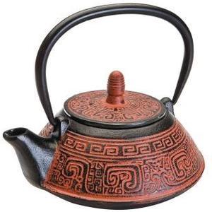 Teekanne India braun Fassungsvermögen 0.8 Liter