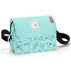 Kindergartentasche everydaybag cats an dogs mint, 2.5 l, 20 x 14.5 x 10 cm
