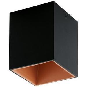 POLASSO Deckenleuchte schwarz,kupfer Technik / inkl. 1x LED 3,3W