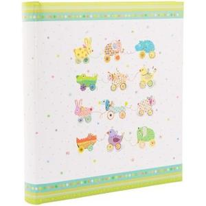 Babyalbum Animal on Wheels Grösse: 30x31 cm, 60 Seiten