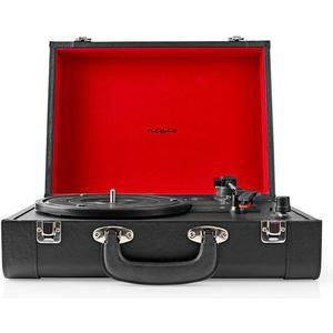 Plattenspieler, 18W Lautsprecher, Bluetooth, Koffer