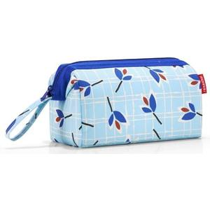 Necessaire travelcosmetic 4l leaves blue, 26 x 18 x 13.5 cm