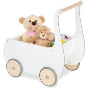 Puppenwagen Mette Weiss