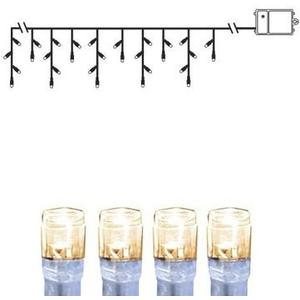 LED Lichtervorhang 2.5m Dura Transpa, L: 2.5m, Batt. 3xAA m Timer 6h/18h