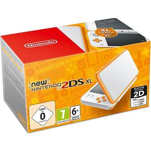 New 2DS XL weiss/orange